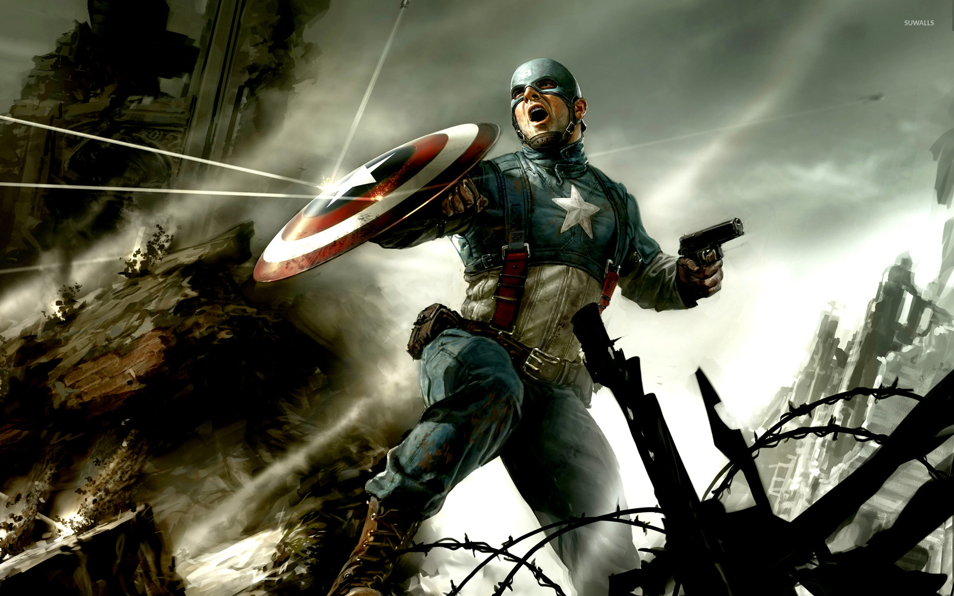 Captain America The First Avenger Wallpaper 1396632