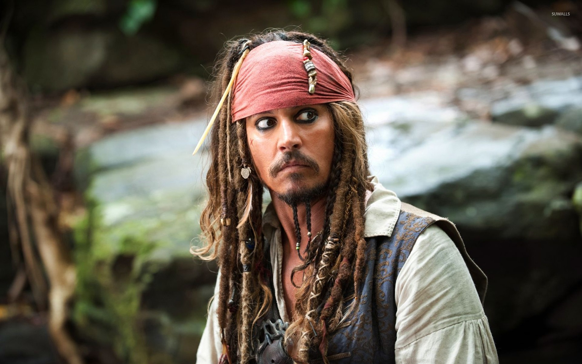 Captain Jack Sparrow The Pirates Of The Caribbean 2