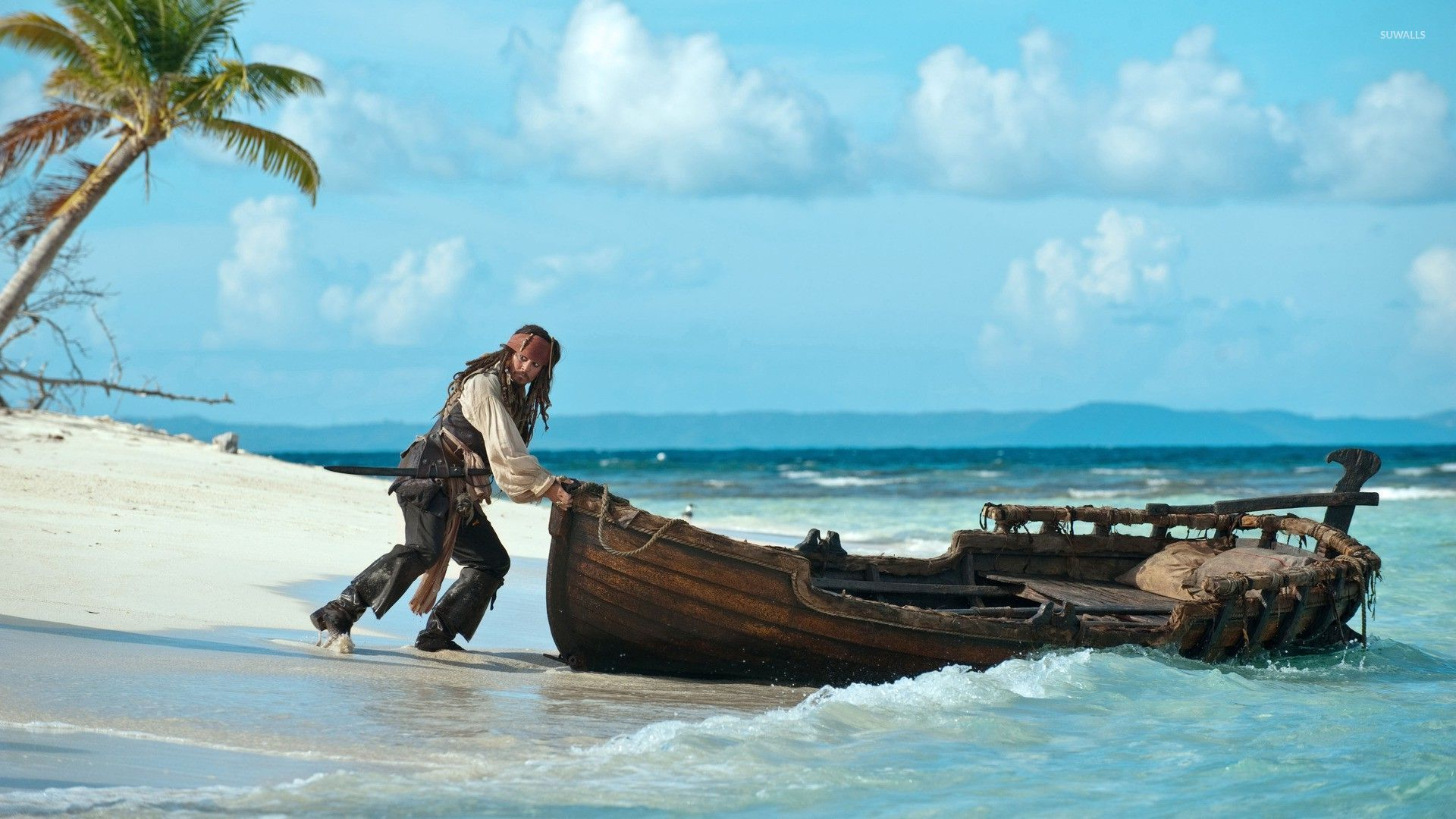 Captain Jack Sparrow The Pirates Of The Caribbean 3 Wallpaper