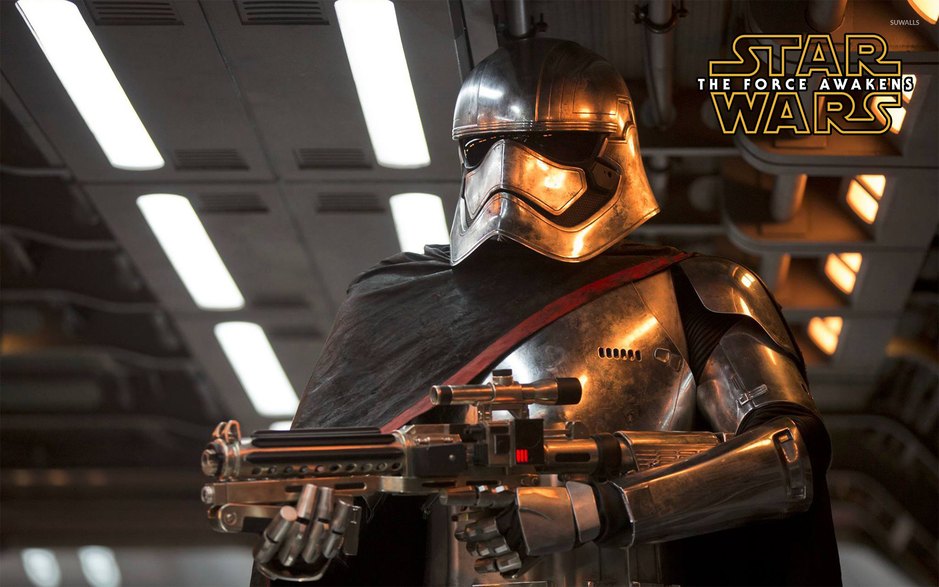 Captain Phasma In Star Wars The Force Awakens Wallpaper Movie Wallpapers 51507