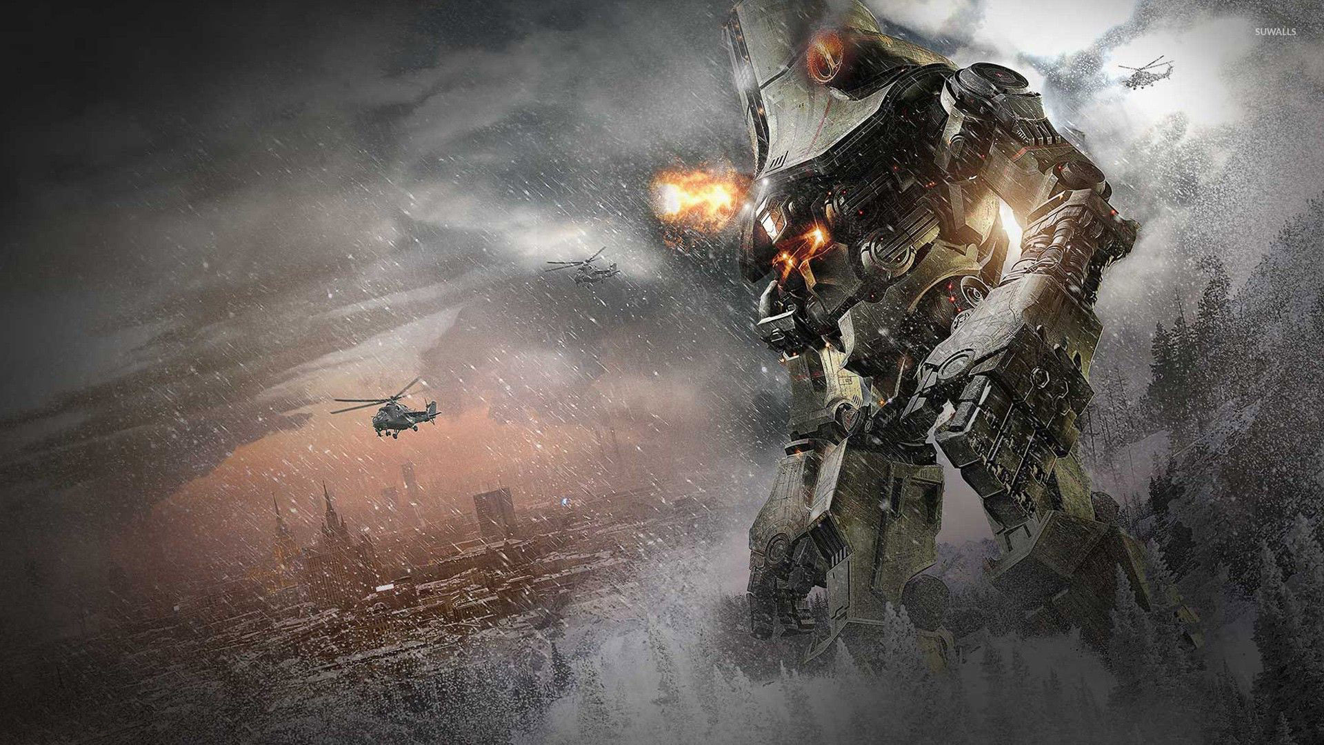 Cherno Alpha - Pacific Rim wallpaper - Movie wallpapers ... Pacific Rim Cherno Alpha Dies