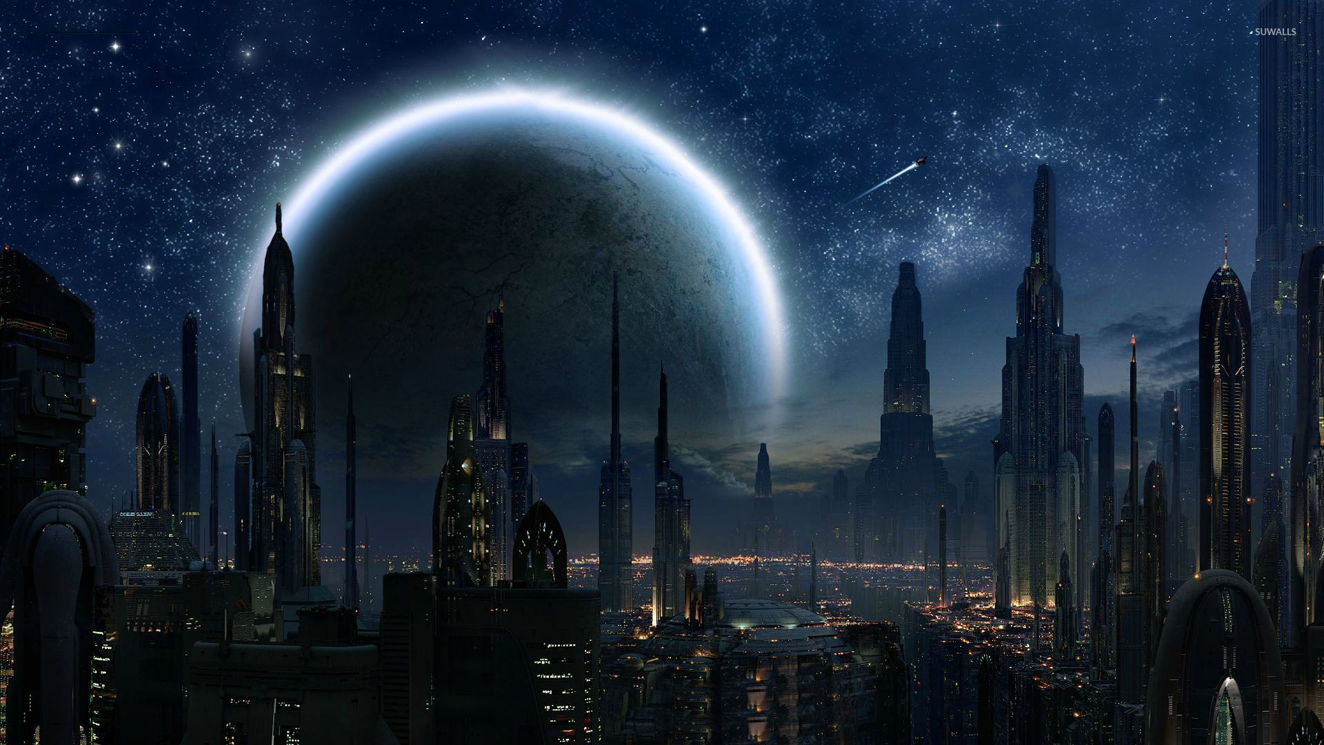 Coruscant Star Wars wallpaper Movie wallpapers 29352