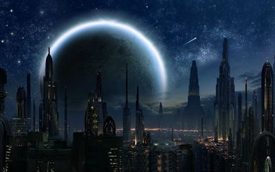 Coruscant - Star Wars wallpaper