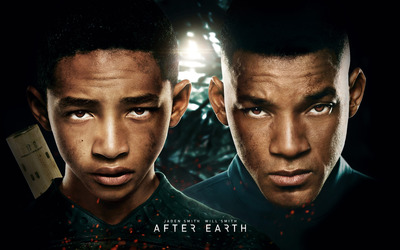 Cypher Raige and Kitai Raige - After Earth [2] wallpaper