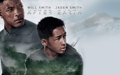 Cypher Raige and Kitai Raige - After Earth wallpaper