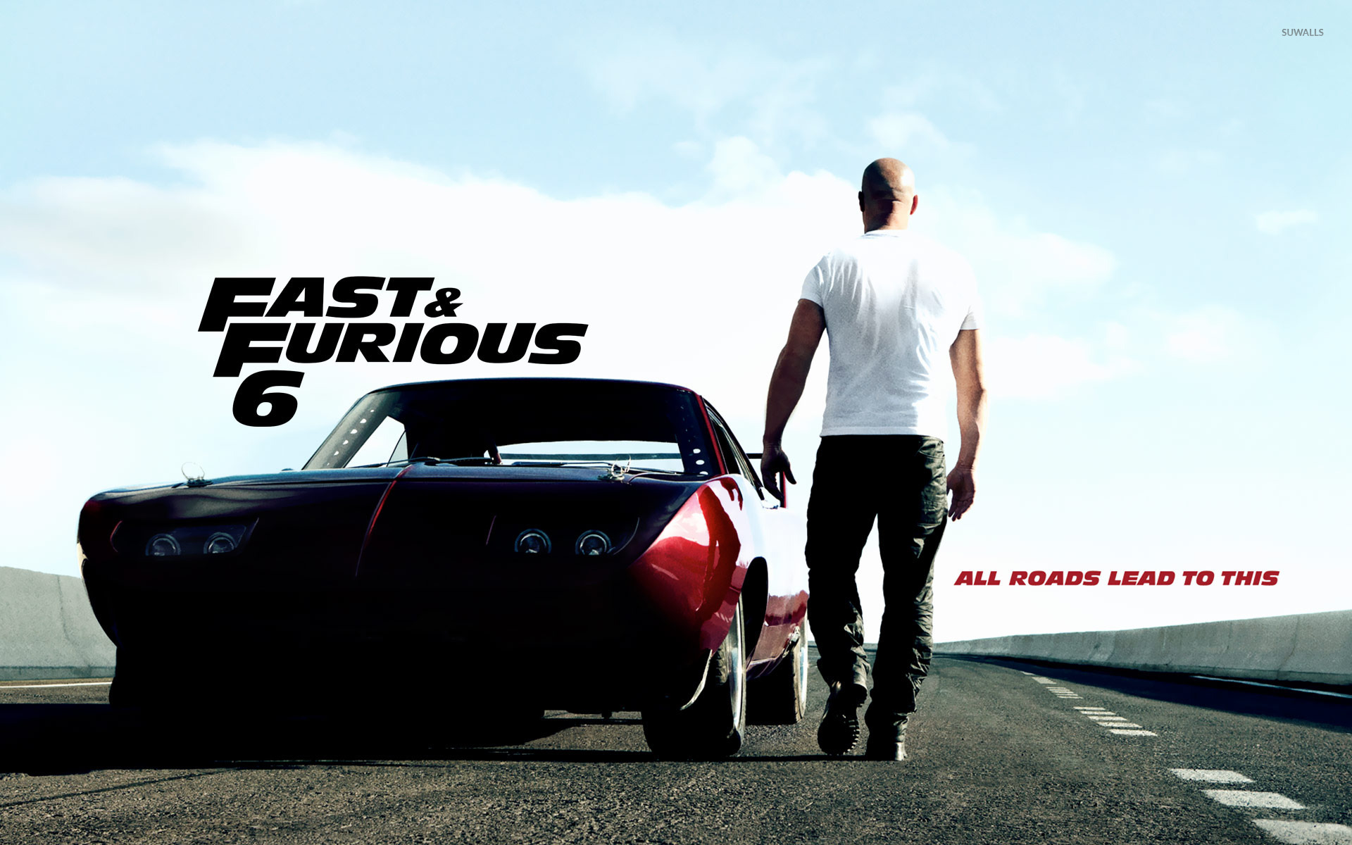 Dominic Toretto - Fast & Furious 6 wallpaper - Movie ...