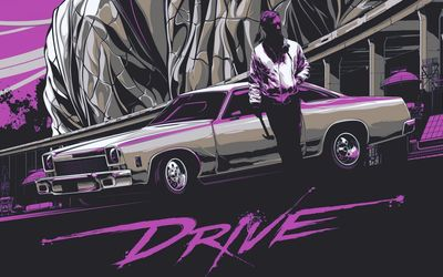 Drive [3] wallpaper