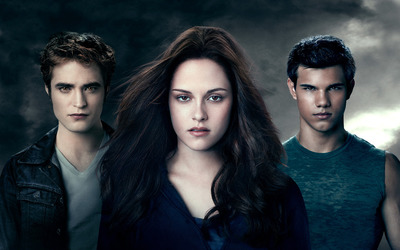 Edward, Bella and Jacob wallpaper