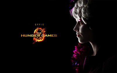 Effie Trinket - The Hunger Games wallpaper
