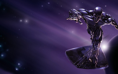Fantastic 4: Rise of the Silver Surfer wallpaper