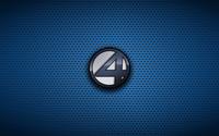 Fantastic Four logo on dotted pattern wallpaper 1920x1080 jpg