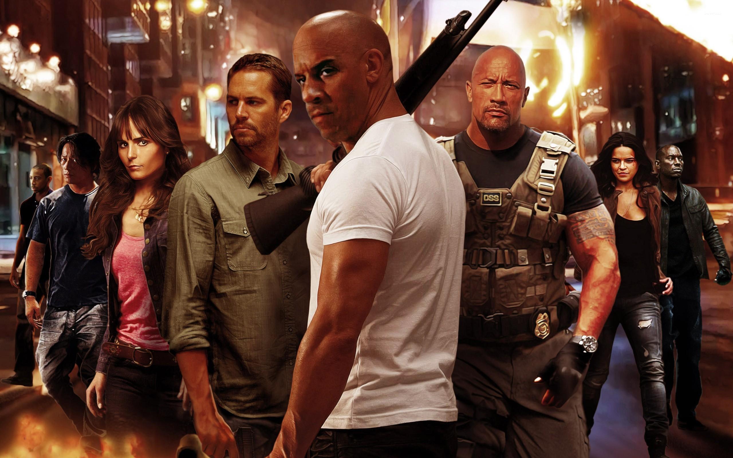 Fast Furious 6 4 Wallpaper Movie Wallpapers 27688