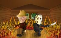 Freddy vs Jason wallpaper 2560x1600 jpg