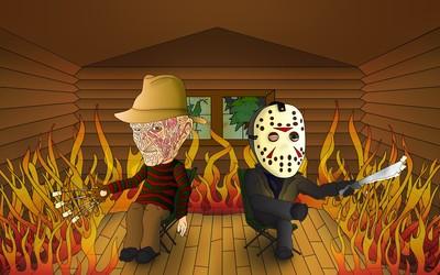 Freddy vs Jason wallpaper