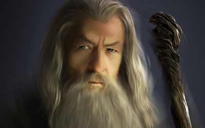 Gandalf - Lord of the Rings wallpaper