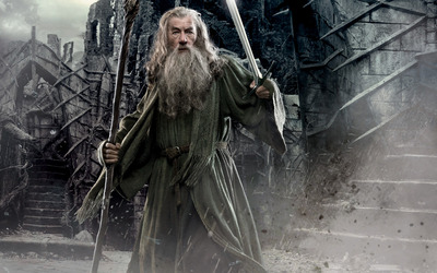Gandalf - The Hobbit: The Desolation of Smaug wallpaper