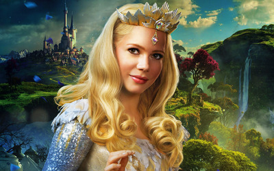 Glinda - Oz the Great and Powerful wallpaper