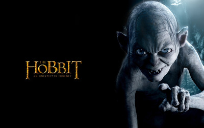 Gollum - The Hobbit: An Unexpected Journey wallpaper