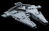 Harrower-class dreadnought - Star Wars wallpaper 1920x1200 jpg