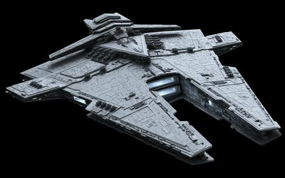 Harrower-class dreadnought - Star Wars wallpaper