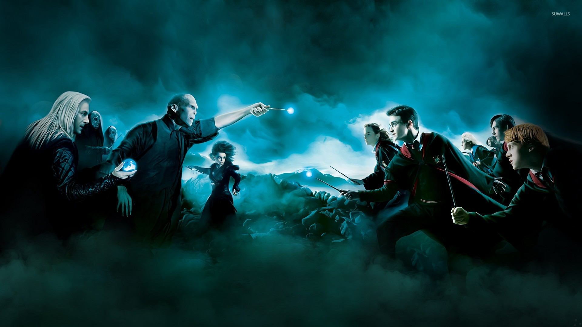 Harry Potter And The Deathly Hallows 2 Wallpaper Movie