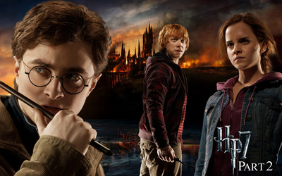 Harry Potter and the Deathly Hallows -Part 2 wallpaper