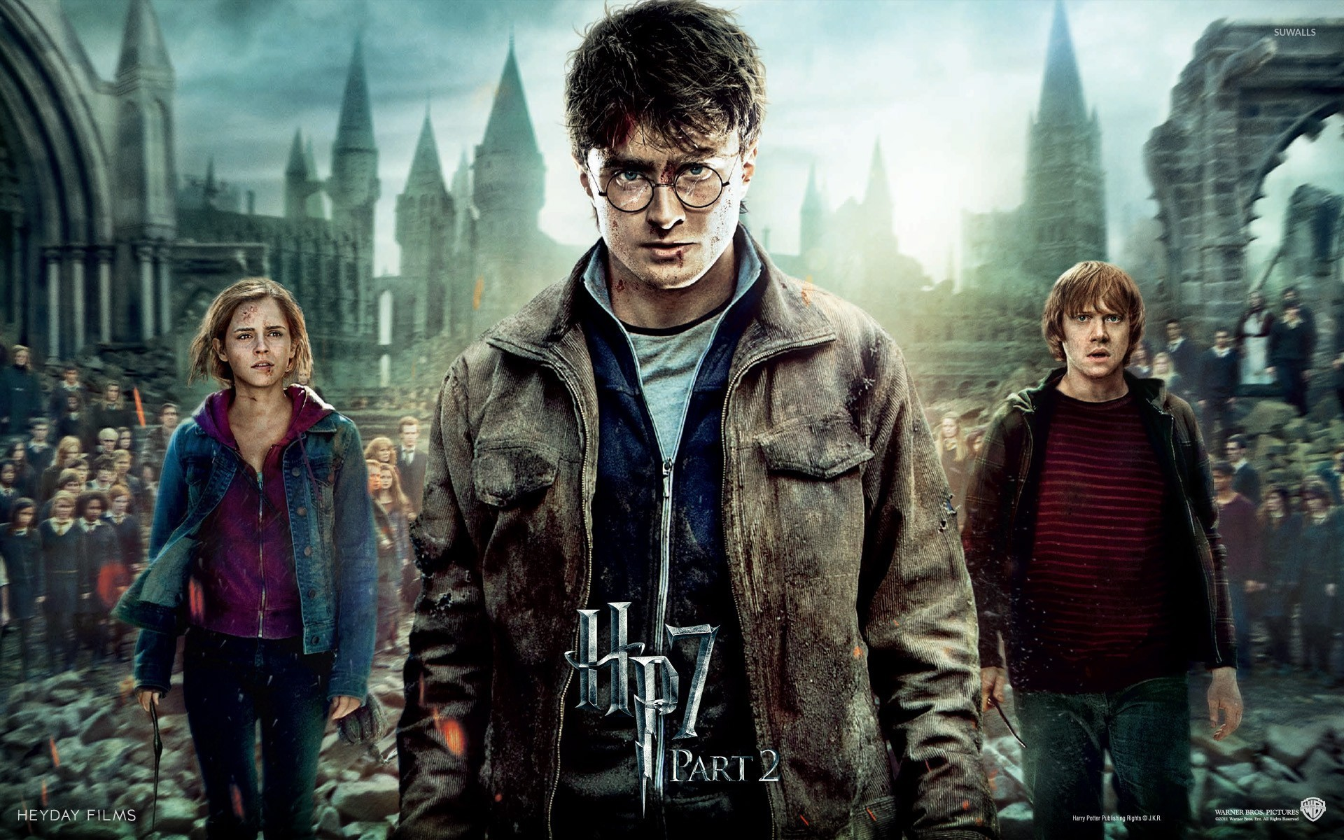 Harry Potter And The Deathly Hallows Part 2 Wallpaper Movie