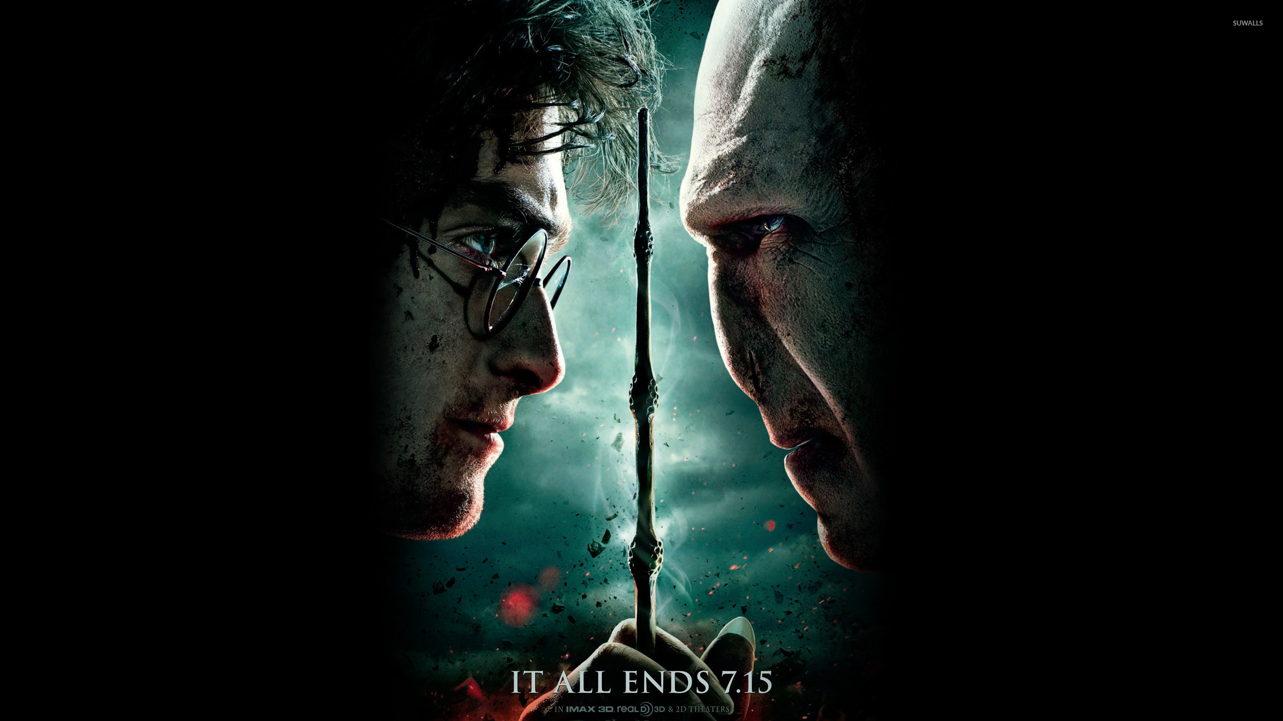 harry potter and the deathly hallows part 2 3 wallpaper