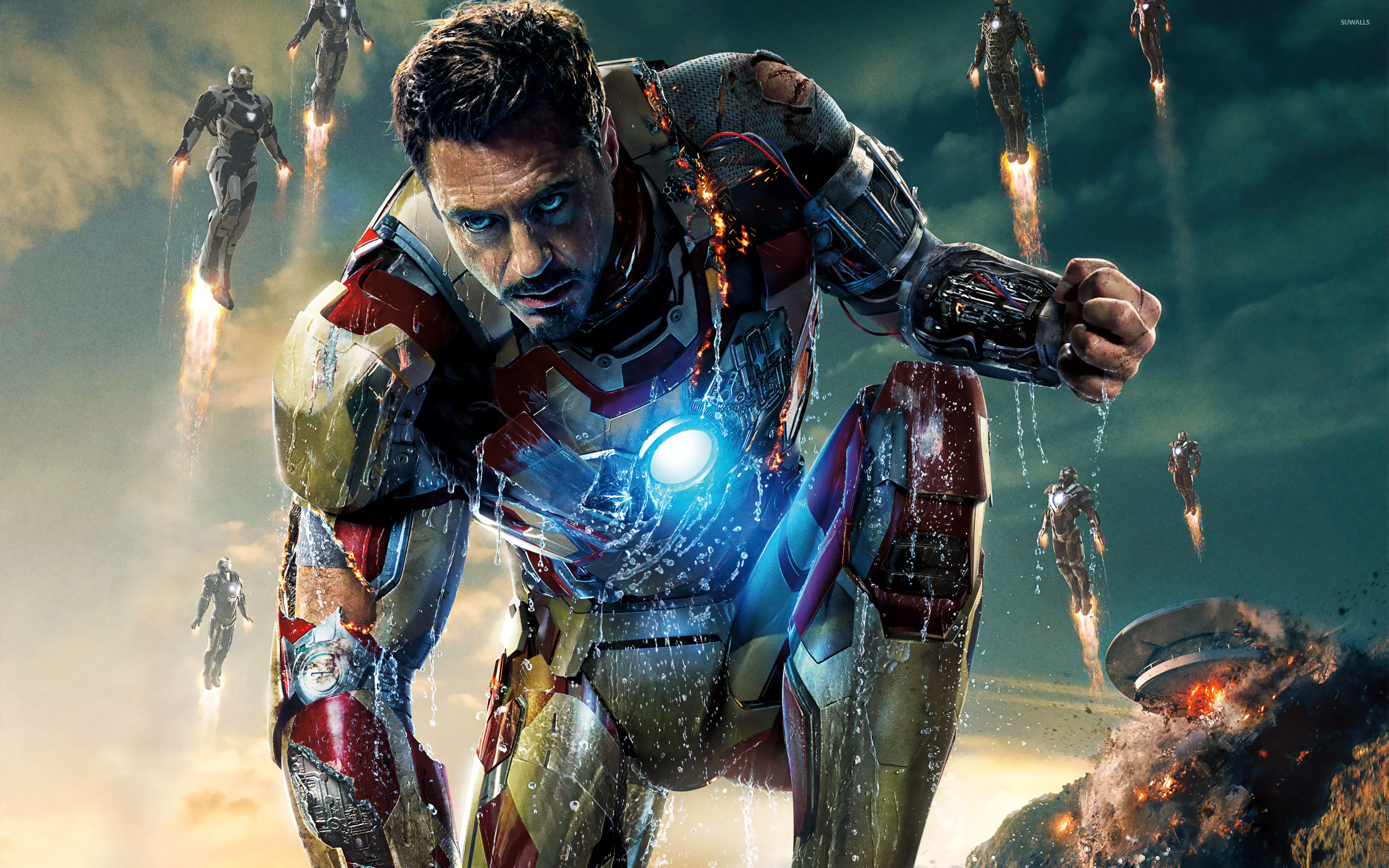 iron man 3 wallpaper - movie wallpapers - #19233