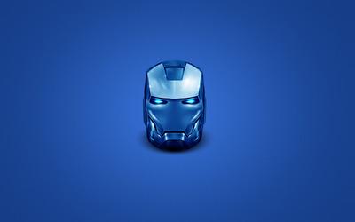 Iron Man head wallpaper