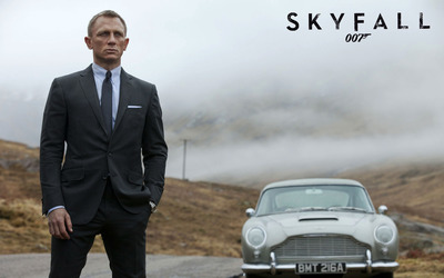 James Bond - Skyfall [4] wallpaper