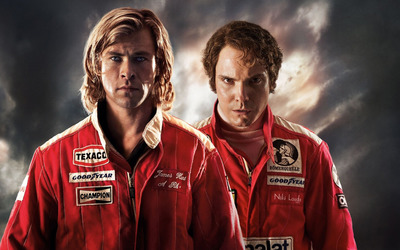 James Hunt and Niki Lauda - Rush [2] wallpaper