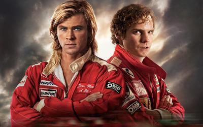 James Hunt and Niki Lauda - Rush wallpaper