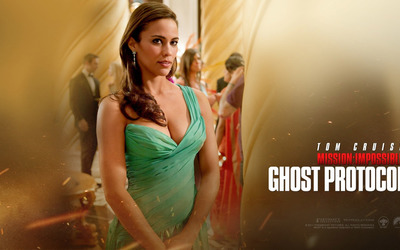 Jane Carter - Mission Impossible - Ghost Protocol wallpaper