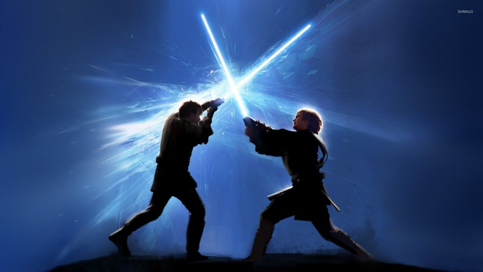 Jedi Fight Wallpaper