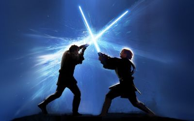 Jedi fight wallpaper
