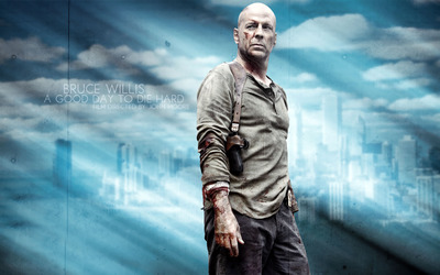 John McClane - A Good Day to Die Hard wallpaper