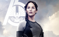 Katniss Everdeen - The Hunger Games: Catching Fire [2] wallpaper 2560x1440 jpg
