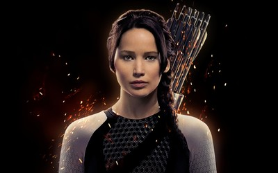 Katniss Everdeen - The Hunger Games Catching Fire wallpaper