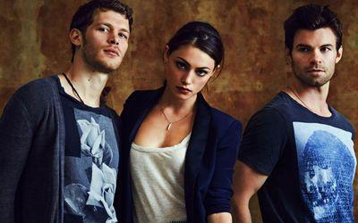 Klaus, Hayley and Elijah - The Originals wallpaper