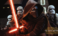 Kylo Ren ready to fight - Star Wars: The Force Awakens wallpaper 3840x2160 jpg