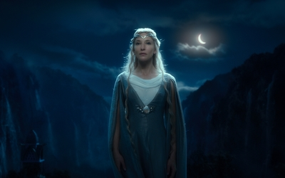 Galadriel in The Hobbit: An Unexpected Journey wallpaper