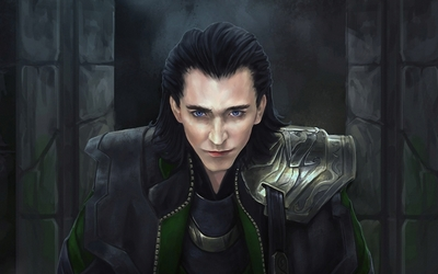 Loki colluding - The Avengers wallpaper