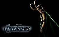 Loki - The Avengers wallpaper 2560x1600 jpg