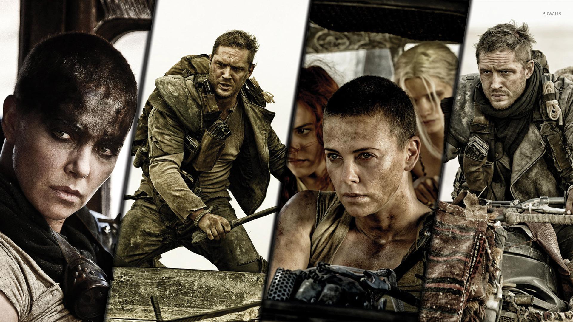Max Rockatansky and Imperator Furiosa - Mad Max: Fury Road [2 ...