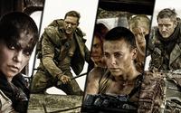 Max Rockatansky and Imperator Furiosa - Mad Max: Fury Road [2] wallpaper 1920x1080 jpg