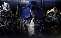 Megatron, Optimus Prime  and Bumblebee - Transformers wallpaper 1920x1080 jpg