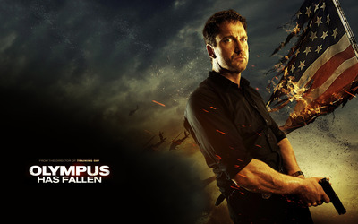 Mike Banning - Olympus Has Fallen wallpaper