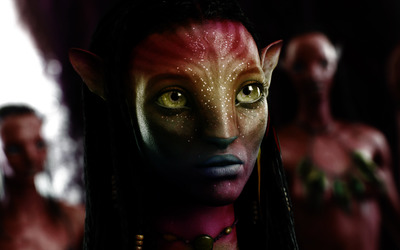 Neytiri - Avatar wallpaper