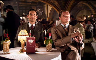Nick Carraway and Jay Gatsby - The Great Gatsby wallpaper